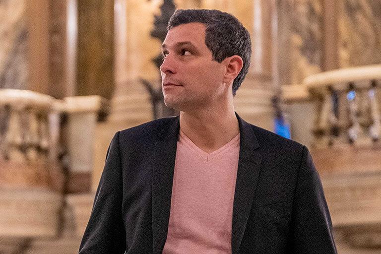Grégory Mangeret fondateur des Productions Adonis